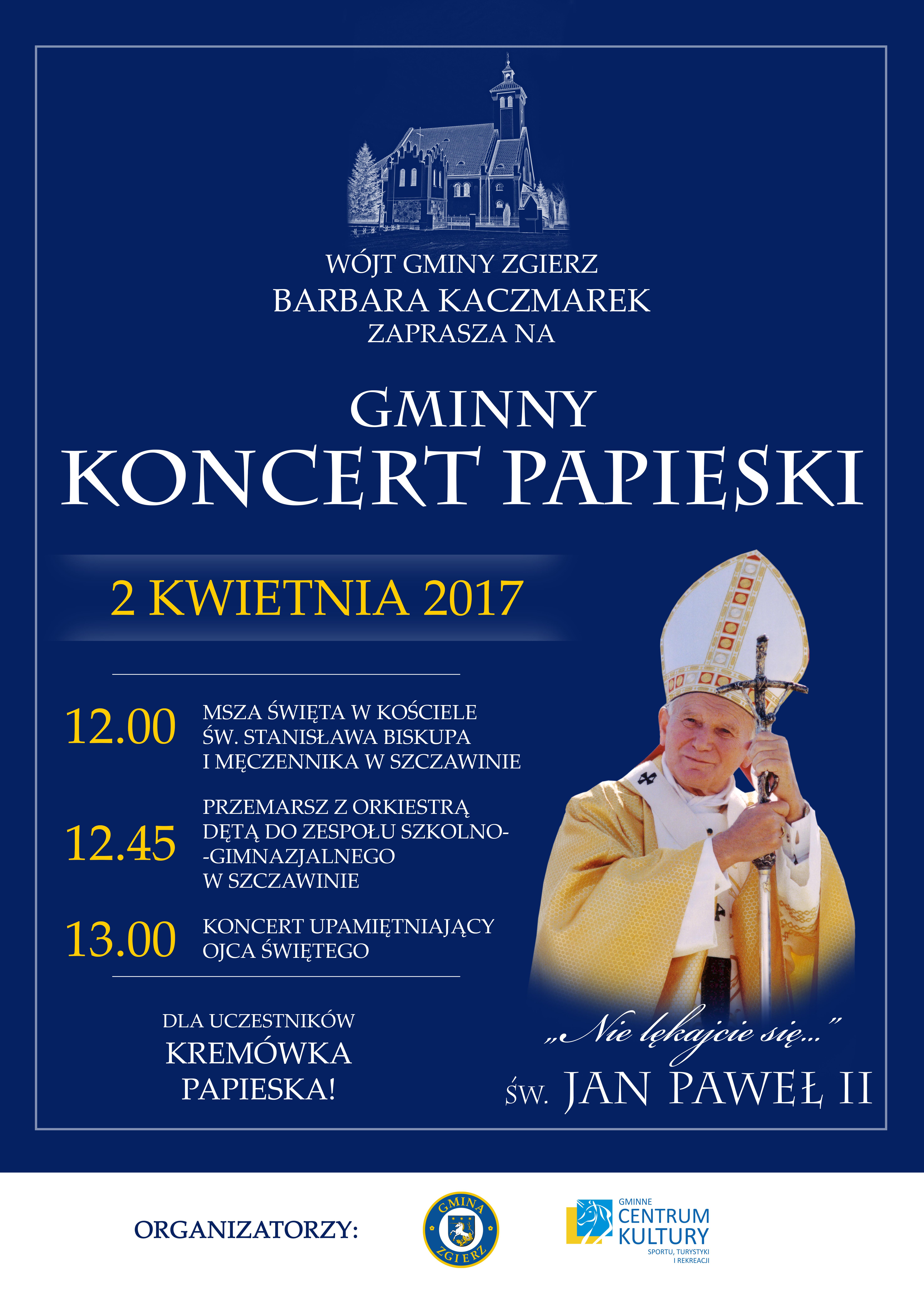 Gminny Koncert Papieski