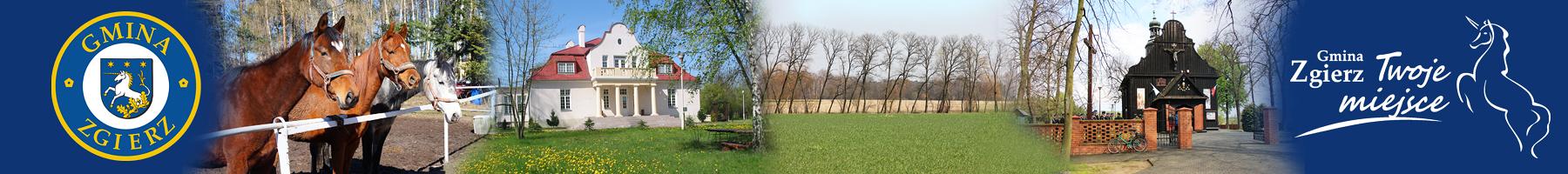 Gmina Zgierz – Oficjalna strona internetowa Logo