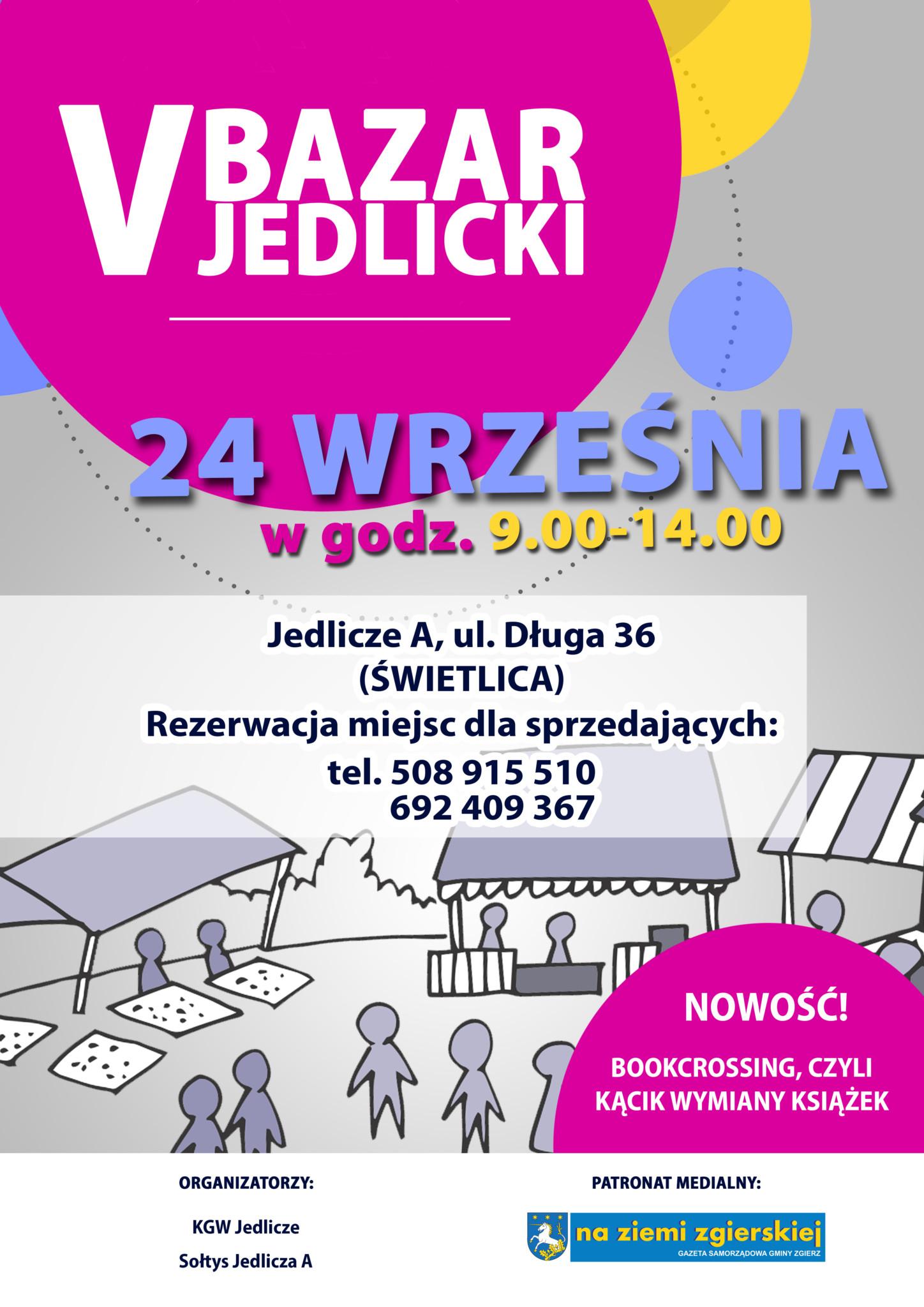 V Bazar Jedlicki @ Długa 36