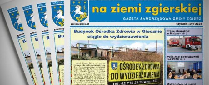 Stos gazet Na Ziemi Zgierskiej 1-2/2020
