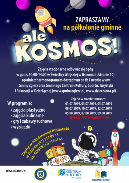 ale KOSMOS! - półkolonie gminne