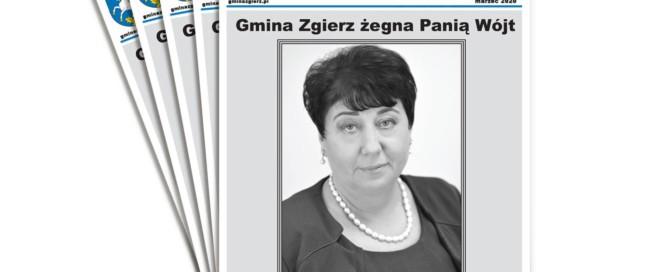 Stos gazet Na Ziemi Zgierskiej - Marzec 2020